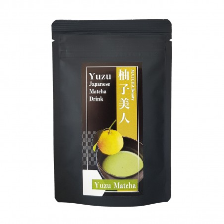 Tea Matcha and yuzu - 30 g Domechan MUQ-20967543 - www.domechan.com - Japanese Food