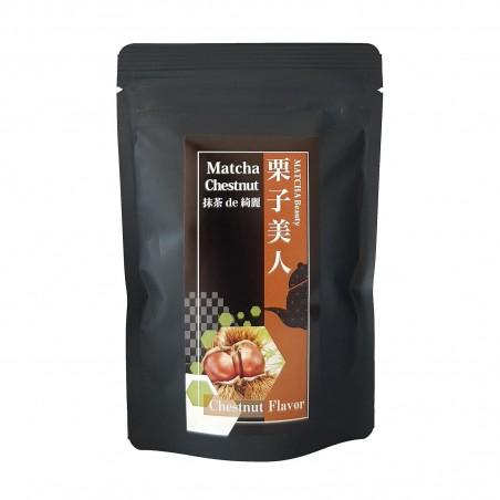 Tè Matcha e castagna - 30 g Domechan COP-13810038 - www.domechan.com - Prodotti Alimentari Giapponesi