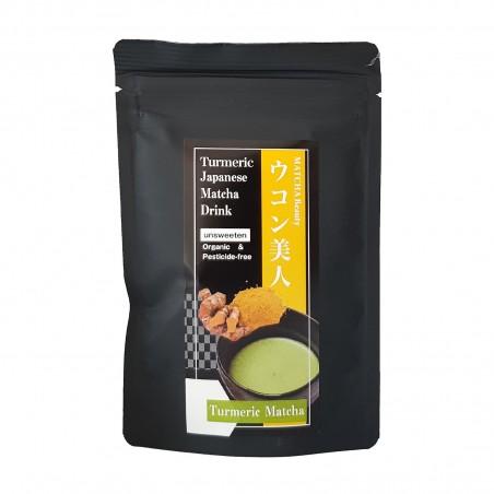 Tee Matcha und kurkuma JAS Organisch - 30 g Domechan KBE-35124096 - www.domechan.com - Japanisches Essen