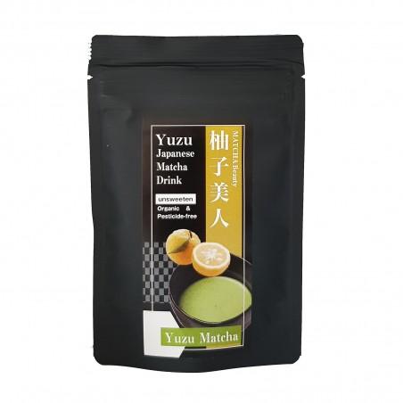 Tee Matcha und yuzu JAS Organisch - 30 g Domechan ZQF-52416225 - www.domechan.com - Japanisches Essen