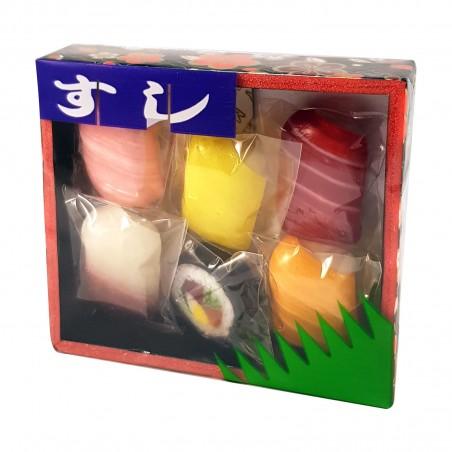 Süßigkeiten sushi assortiert - 30 g Air Co BIQ-52194930 - www.domechan.com - Japanisches Essen