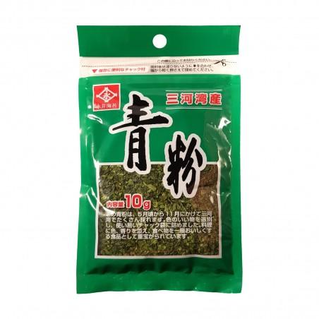Seaweed aonori powder ana-aosa - 10 g Nagainori KOP-85246971 - www.domechan.com - Japanese Food