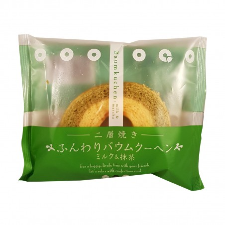 Baumkuchen latte e matcha - 75 g Taiyo Foods COA-34291192 - www.domechan.com - Prodotti Alimentari Giapponesi