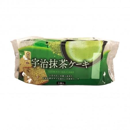 Uji matcha cake castella - 200 g Taiyo Foods AAP-25519372 - www.domechan.com - Prodotti Alimentari Giapponesi