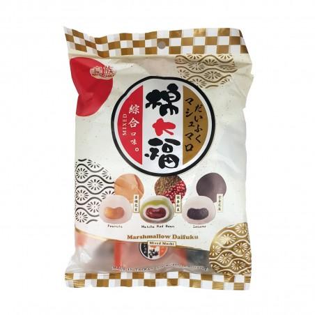 Marshmallow daifuku mochi mix 3 flavours - 250 gr Royal Family YGI-23787456 - www.domechan.com - Japanese Food