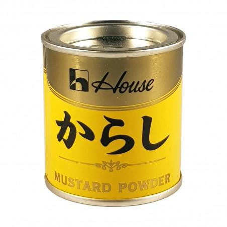 Senf in pulver yohkarashi - 35 g House Foods FDS-37299111 - www.domechan.com - Japanisches Essen