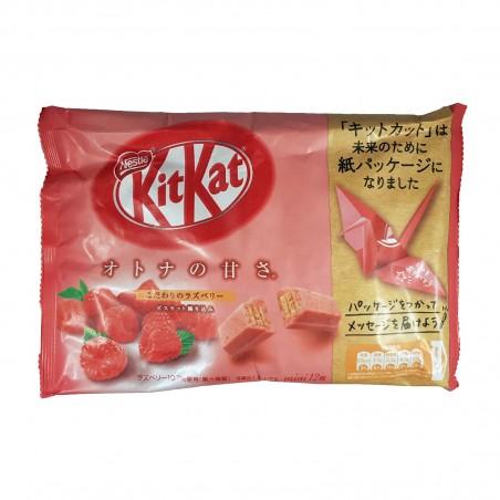 KitKat mini Nestlé lampone - 135 g Nestle YTU-54728633 - www.domechan.com - Prodotti Alimentari Giapponesi