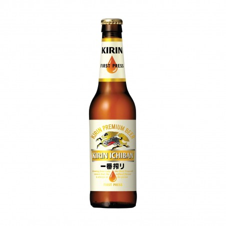 Birra kirin ichiban in vetro - 330 ml Kirin BCY-10469079 - www.domechan.com - Prodotti Alimentari Giapponesi