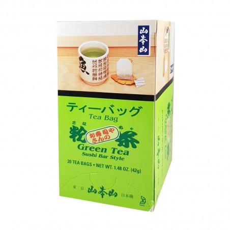 Green tea konacha style sushi bar - 42 g Hayashiya Nori Ten KYY-41435622 - www.domechan.com - Japanese Food