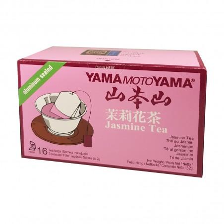 Tè jasmine - 32 g Yama Moto Yama YUI-09786459 - www.domechan.com - Prodotti Alimentari Giapponesi