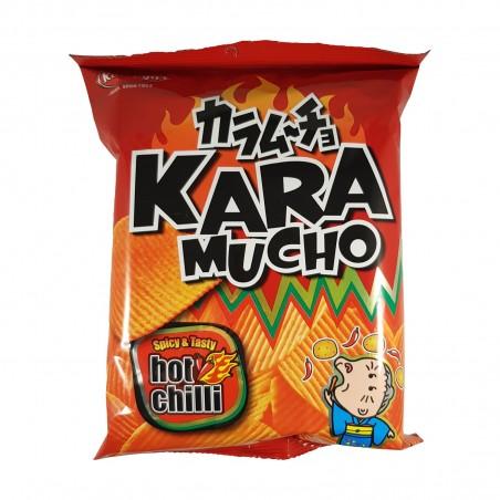 Chips Karamucho with chilli cutting crest - 60 g Koikeya Belgium Branch VGY-77287282 - www.domechan.com - Japanese Food