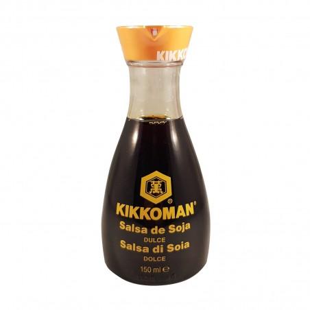 Soy sauce, fresh - 150 ml Kikkoman NBM-45346788 - www.domechan.com - Japanese Food