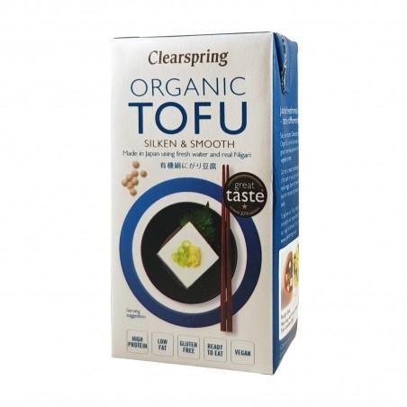 Tofu organischen samtig - 300 g Clearspring WRG-09875611 - www.domechan.com - Japanisches Essen
