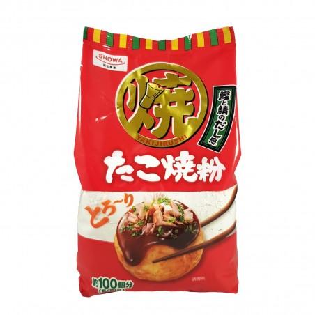 Farina per takoyaki - 500 g Showa BCU-72368542 - www.domechan.com - Prodotti Alimentari Giapponesi