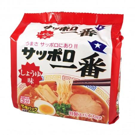 Sapporo 1ban ramen alla salsa di soia - 500 g Sanyo Foods MOL-27110908 - www.domechan.com - Prodotti Alimentari Giapponesi