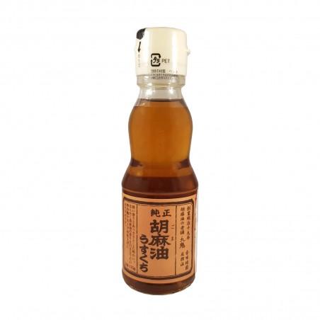 Olio di sesamo junsei usukuchi - 170 g Kuki MOM-65710465 - www.domechan.com - Prodotti Alimentari Giapponesi