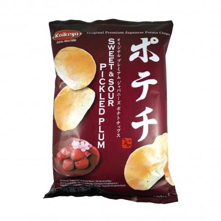 The fries taste umeboshi - 100 g Koikeya Belgium Branch BUB-29109547 - www.domechan.com - Japanese Food