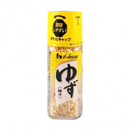 Yuzu in polvere - 9 g House Foods BEI-81810280 - www.domechan.com - Prodotti Alimentari Giapponesi
