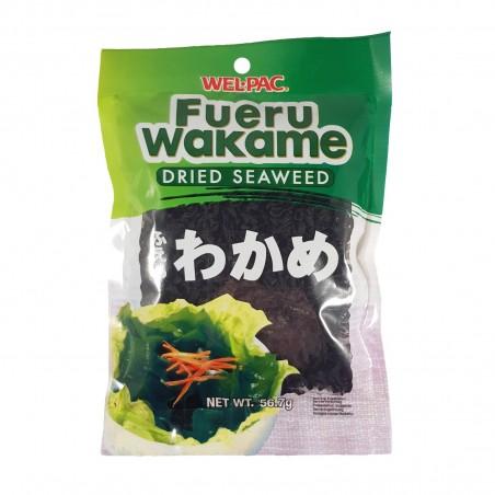 Wakame seaweed dried - 56,7 g Wel Pac YYT-29487356 - www.domechan.com - Japanese Food
