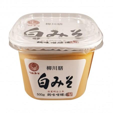 Miso shiro - 500 g Tsurumiso ZZA-12341313 - www.domechan.com - Prodotti Alimentari Giapponesi