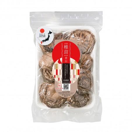 Mushrooms, koshin shiitake mushrooms - 70 g Sugimoto IMO-13012021 - www.domechan.com - Japanese Food