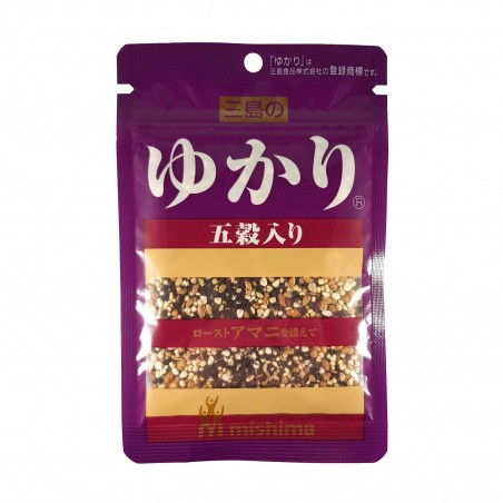 Yukari shiso 5 cereali e semi di lino - 24 g Mishima HBD-23419203 - www.domechan.com - Prodotti Alimentari Giapponesi