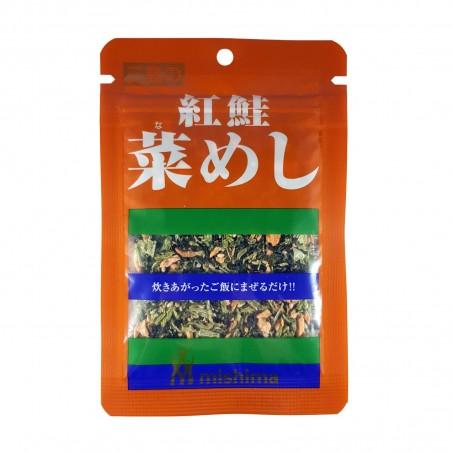 Napa condimento con salmone essiccato - 15 g Mishima IBI-21452142 - www.domechan.com - Prodotti Alimentari Giapponesi