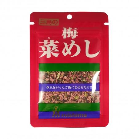 Napa mit pflaumen-umeboshi - 15 g Mishima NPZ-29892918 - www.domechan.com - Japanisches Essen