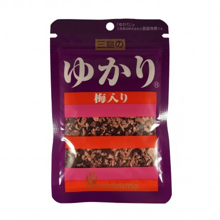 Yukari shiso mit pflaumen-umeboshi - 22 g Mishima NPL-40909021 - www.domechan.com - Japanisches Essen