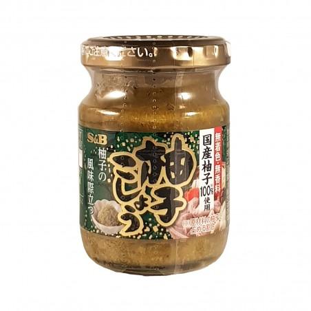 Yuzu et le piment vert - 80 g S&B BKY-25385783 - www.domechan.com - Nourriture japonaise