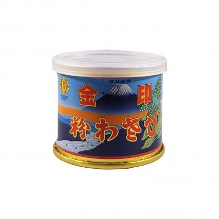 Wasabi powder - 25 g Kinjirushi Wasabi KIN-76893691 - www.domechan.com - Japanese Food