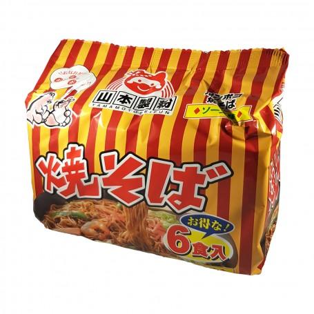 Ponpoko yakisoba - 534 g Yamamoto YAM-09302390 - www.domechan.com - Prodotti Alimentari Giapponesi