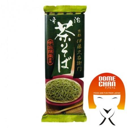 Ujicha soba (soba noodles in the green tea) - 200 g Marufuji AFY-56658575 - www.domechan.com - Japanese Food