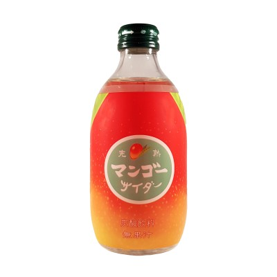 Soda giapponese al mango - 300 ml Tomomasu MAN-42525566 - www.domechan.com - Prodotti Alimentari Giapponesi