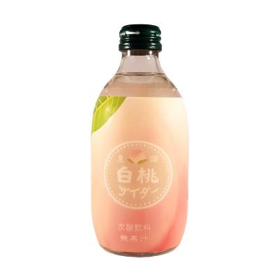 Japanese peach soda - 300 ml Tomomasu PEA-13493721 - www.domechan.com - Japanese Food
