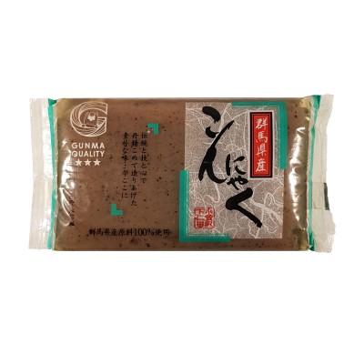 Ita konnyaku kuro - 250 g Shimonita KUR-24783634 - www.domechan.com - Japanisches Essen