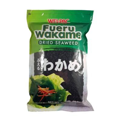 Dried wakame seaweed - 453 g Wel Pac WAK-24356787 - www.domechan.com - Japanese Food