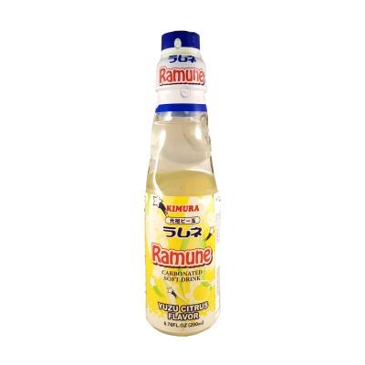 Ramune Japanese lemonade kimura yuzu - 200 ml Kimura YUZ-33652666 - www.domechan.com - Japanese Food
