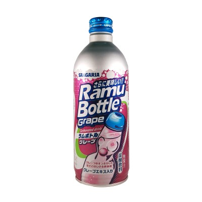 Japanese ramune grape taste - 500 ml Sangaria RIA-23983138 - www.domechan.com - Japanese Food