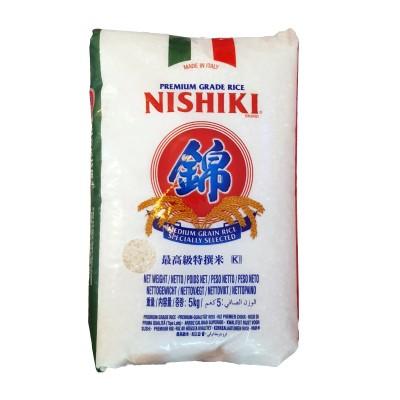 Rice nishiki medium grain - 5 kg JFC LOT-34010199 - www.domechan.com - Japanese Food
