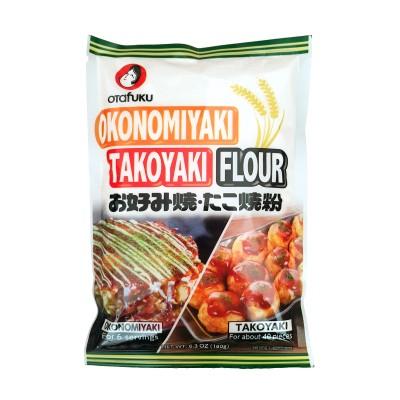 Farina per okonomiyaki e takoyaki - 180 g Otafuku OTA-46756823 - www.domechan.com - Prodotti Alimentari Giapponesi
