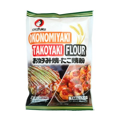 Flour for okonomiyaki and takoyaki - 180 g Otafuku OTA-46756823 - www.domechan.com - Japanese Food