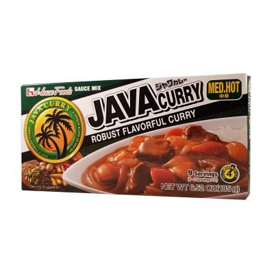 Java curry medium spicy - 185g House Foods AVA-45234141 - www.domechan.com - Japanese Food