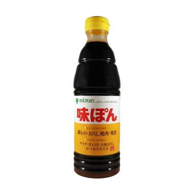 Aji-pon ponzu sauce - 600 ml Mizkan AJI-32134784 - www.domechan.com - Japanese Food