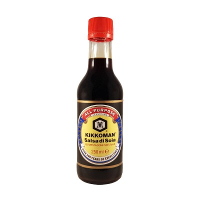 Traditional kikkoman soy sauce - 250 ml Kikkoman KIK-45872655 - www.domechan.com - Japanese Food