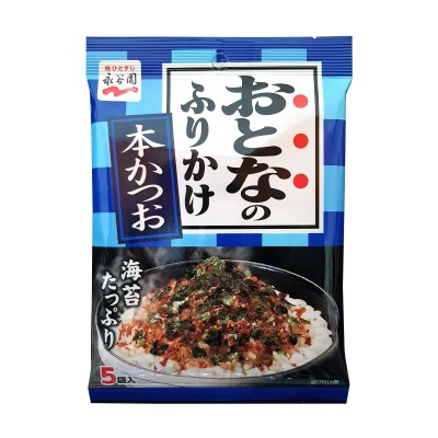 Otonano furikake hon katsuo - 12,5 g Nagatanien NAN-67447654 - www.domechan.com - Prodotti Alimentari Giapponesi