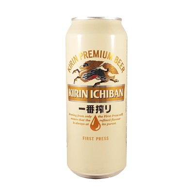 Kirin Ichiban Bier in Dose-500 ml Kirin CEQ-06734623 - www.domechan.com - Japanisches Essen