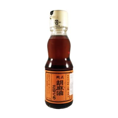 Olio di sesamo scuro tostato koikuchi - 170 g Kuki CHI-37767547 - www.domechan.com - Prodotti Alimentari Giapponesi