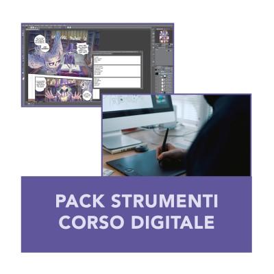 Pack strumenti corso manga digitale - Domechan Domechan DIG-12545123 - www.domechan.com - Prodotti Alimentari Giapponesi