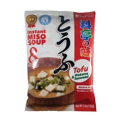 Miso-Suppe mit tofu 8 Portionen - 152 g Marukome TOF-84343221 - www.domechan.com - Japanisches Essen